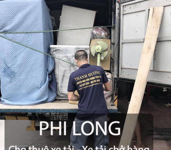 Dịch vụ cho thuê xe tải giá rẻ tại phố Phương Mai