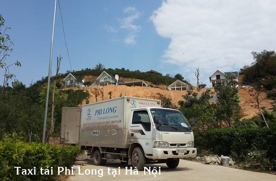 Cho thuê xe tải giá rẻ tại quận Long Biên của hãng taxi tải Phi Long