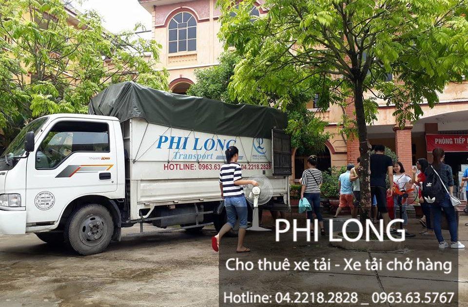 Phi Long cho thuê xe tải giá rẻ nhất tại phố Định Công