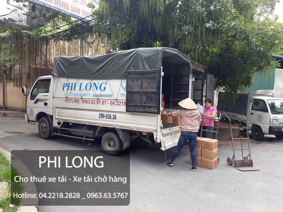Phi Long taxi tải giá rẻ tại phố Định Công
