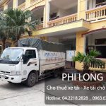 Phi Long cho thuê xe tải chuyên nghiệp tại phố Hoàng Tích Trí