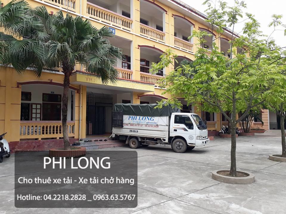 Taxi tải Phi Long chuyên cung cấp cho thuê xe tải chở hàng tại phố Phan Đình Giót