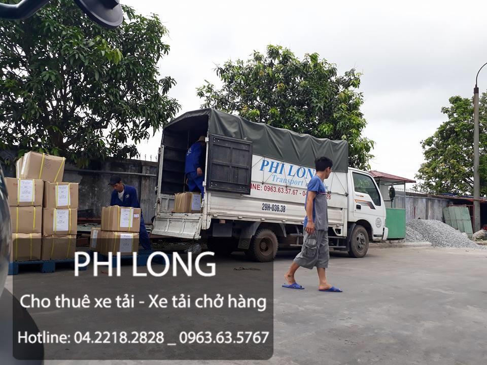 Cho thuê xe tải chở hàng giá rẻ tại phố Phan Đình Giót