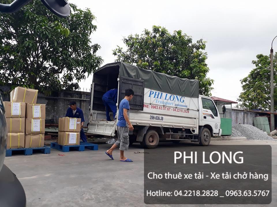 Dịch vụ cho thuê xe tải chở hàng giá rẻ uy tín nhất tại phố Hoàng Tích Trí