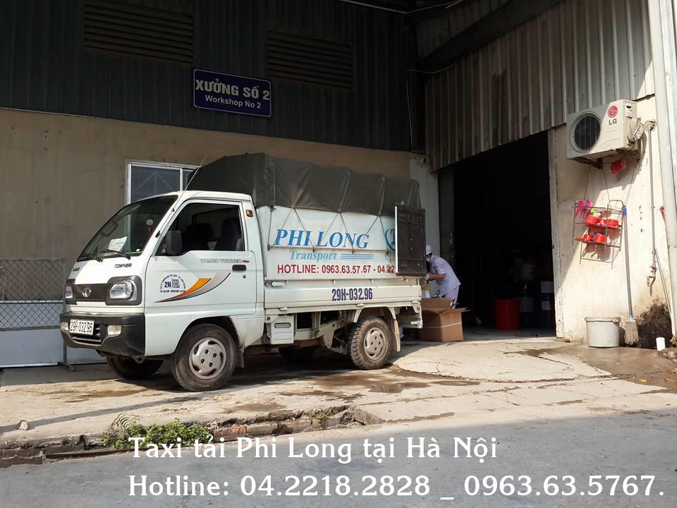Cho thuê xe tải tại quận Đống Đa công ty Phi Long