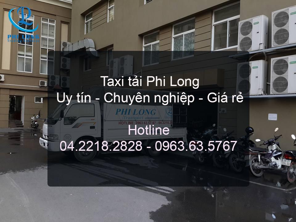 Cho thuê xe tải giá rẻ chuyên nghiệp uy tín Phi Long tại phố Lê Trọng Tấn