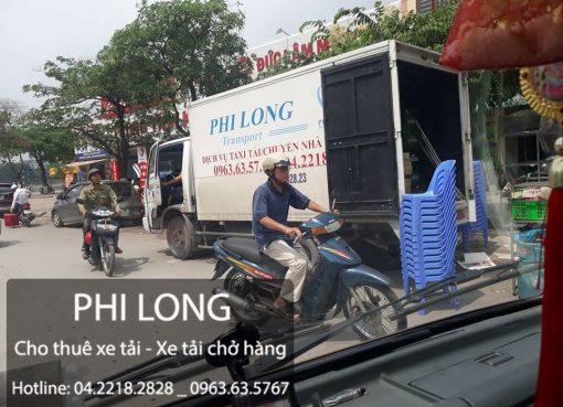 Cho thuê xe tải uy tín tại phố Nguyễn Thị Định