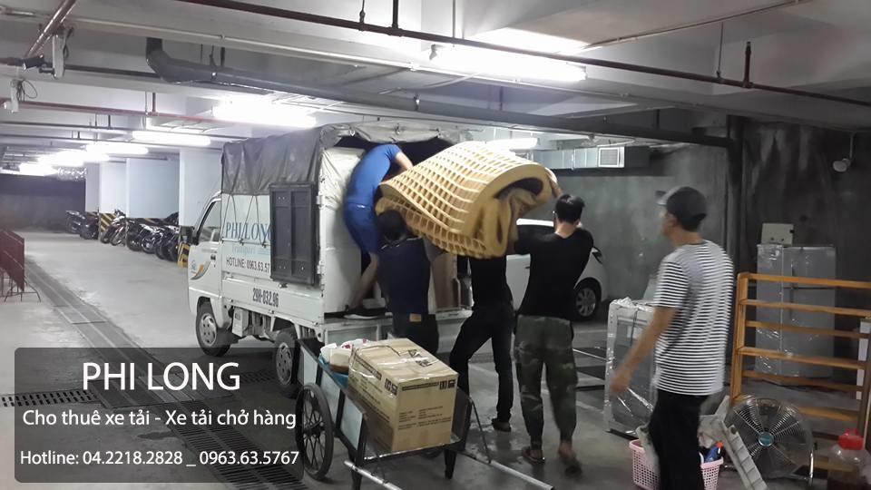 Cho thuê xe tải Phi Long tại phố Bà Triệu-quận Hà Đông