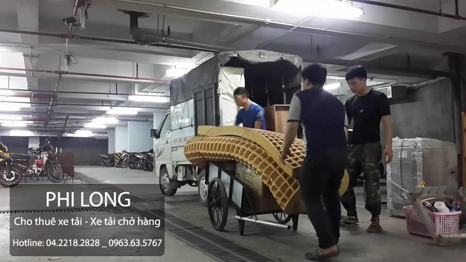 Cho thuê xe tải giá rẻ chuyên nghiệp hàng đầu tại phố Ao Sen