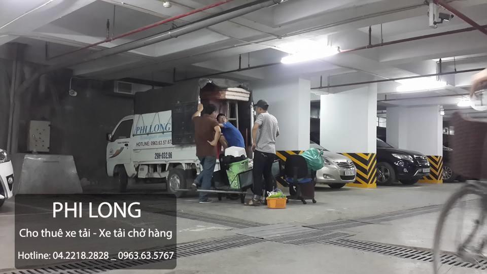 Taxi tải Phi Long tại phố Nguyễn Thị Định