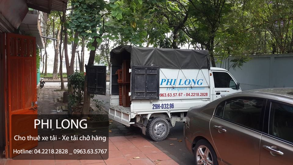Công ty Phi Long cho thuê xe tải Phi Long tại phố Nguyễn Trãi