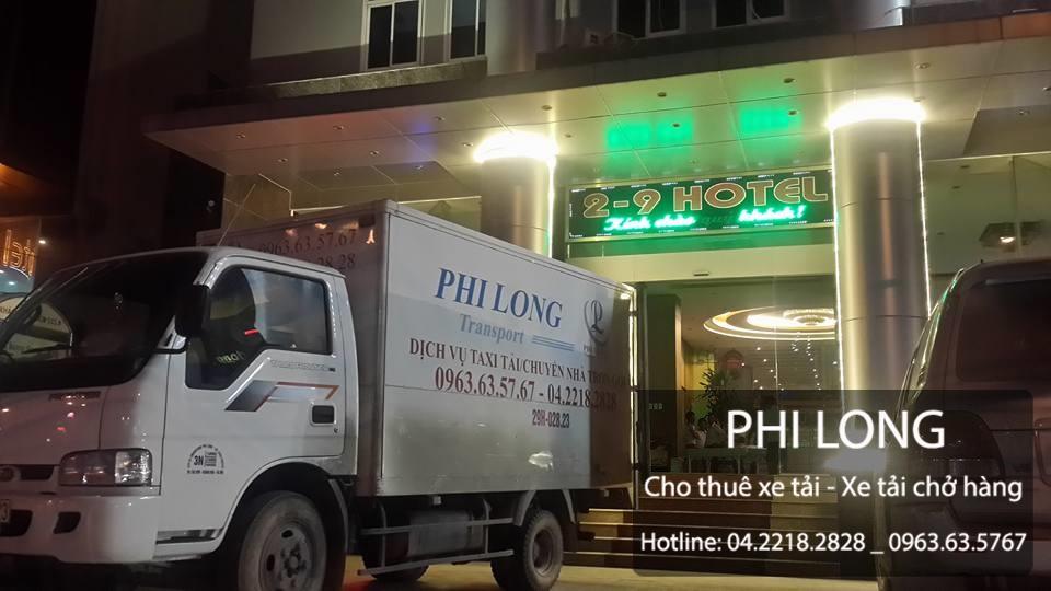 Công ty vận tải Phi Long chuyên cho thuê xe tải giá rẻ tại phố Chính Kinh