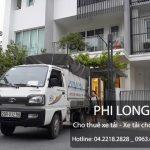 Dịch vụ cho thuê xe tải chuyển nhà giá rẻ tại phố Nguyễn Viết Xuân