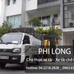 Cho thuê xe tải tại đường Trung Văn