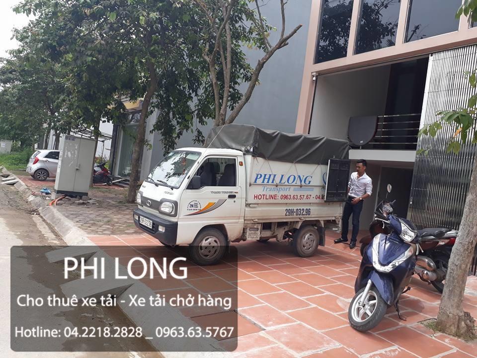 Vận tải Phi Long cho thuê xe tải chở hàng tại đường Trung Văn