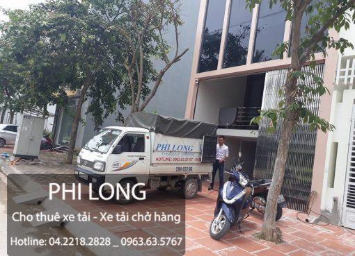 Phi Long dịch vụ cho thuê xe tải chở hàng tại phố Nguyễn Văn Trỗi