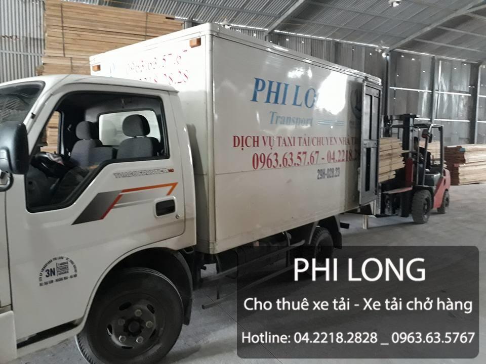 Cho thuê xe tải chở hàng giá rẻ tại phố Nguyễn Viết Xuân