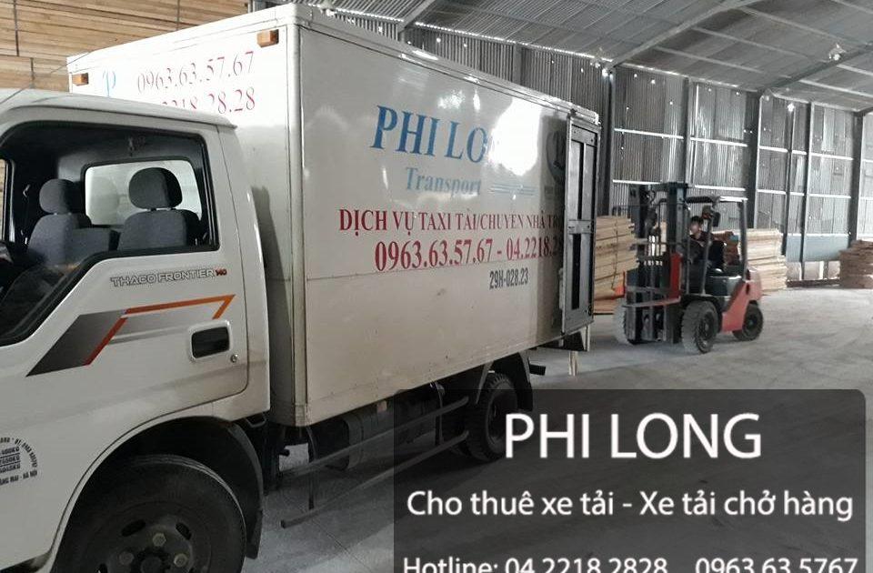Cho thuê xe tải chở hàng tại phố Nguyễn Văn Trỗi