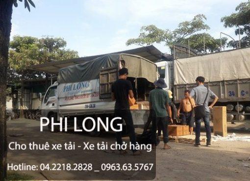 Cho thuê xe tải chuyển nhà giá rẻ tại đường Phúc La - Văn Phú