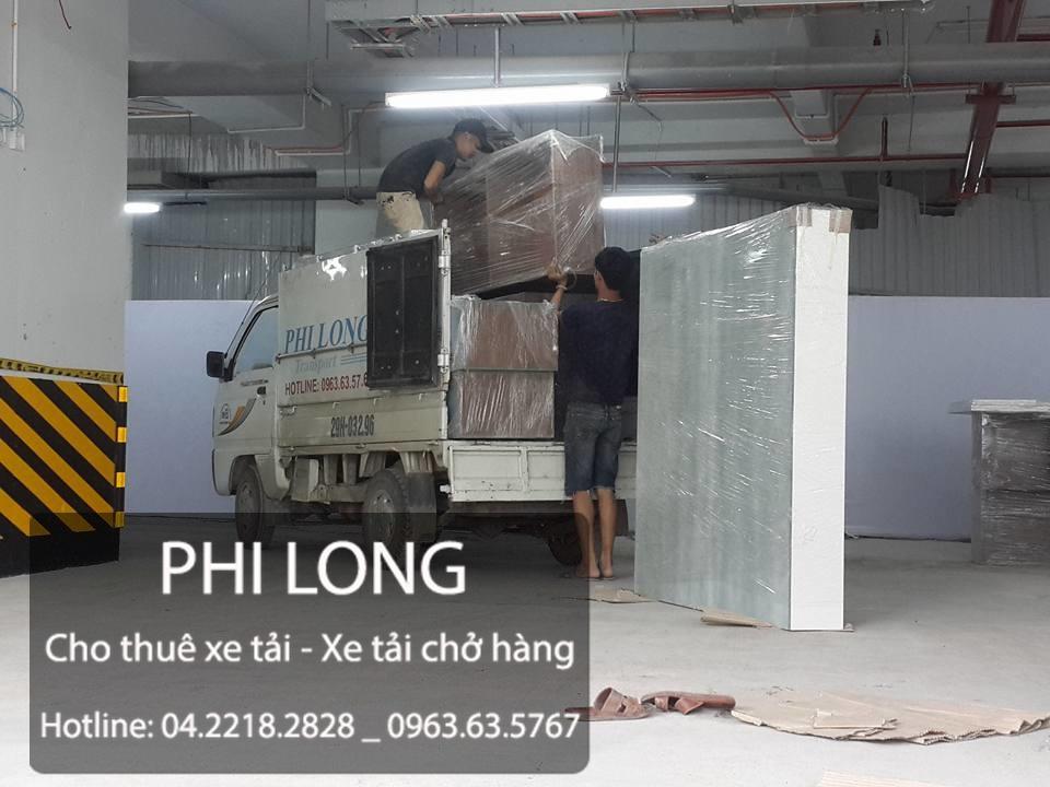 Taxi tải Phi Long tại đường Phúc La - Văn Phú