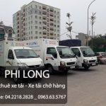 Dịch vụ cho thuê xe tải chở hàng tại phố Tây Sơn