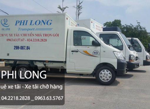 Dịch vụ cho thuê xe tải chở hàng tại phố Phạm Ngọc Thạch