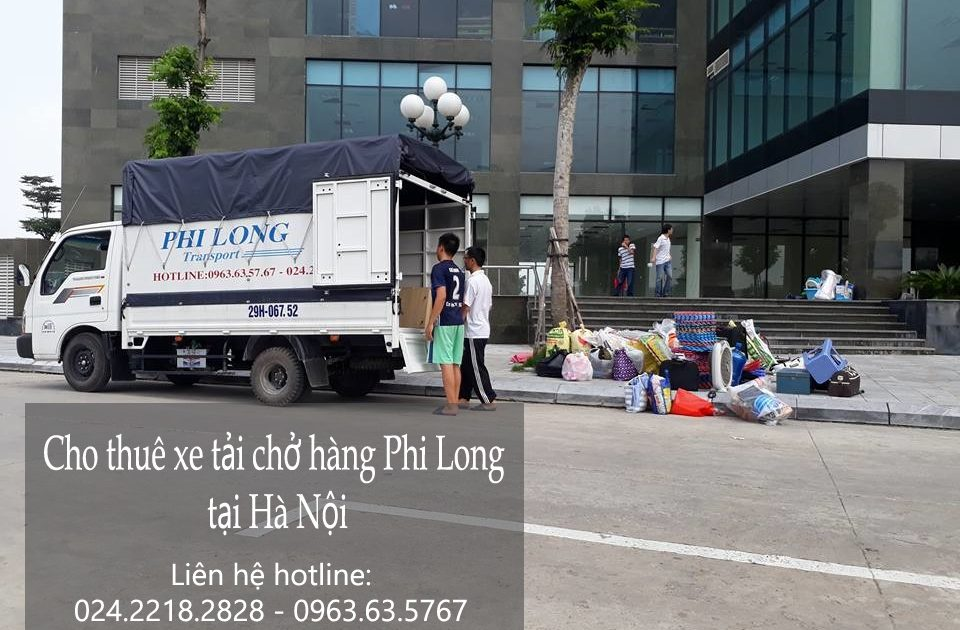 Cho thuê xe tải giá rẻ tại phố Huế-0963.63.5767