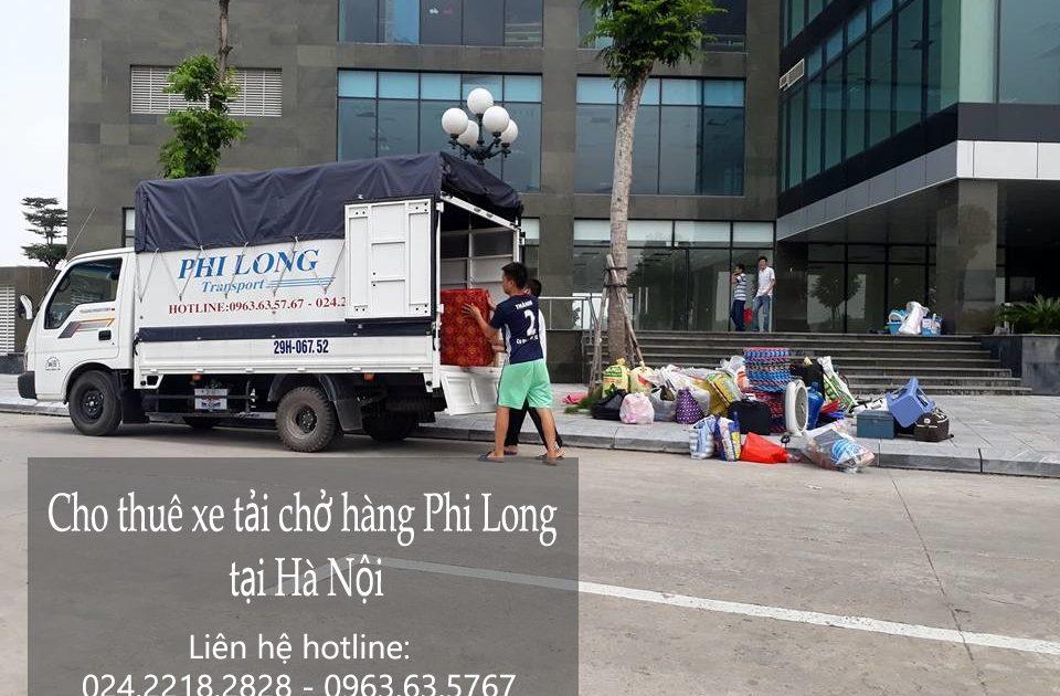 Dịch vụ cho thuê xe tải chở hàng giá rẻ tại phố Hồ Đắc Di