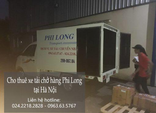 Cho thuê xe tải giá rẻ tại phố Đặng Vũ Hỷ-0963.63.5767