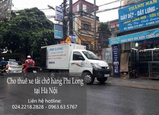 Cho thuê xe tải giá rẻ tại phố Lý Nam Đế