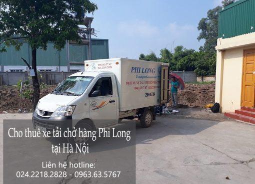 Cho thuê xe tải giá rẻ tại phố Phương Mai
