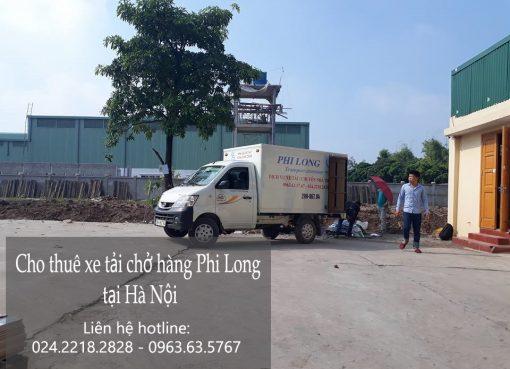 Cho thuê xe tải giá rẻ tại phố Đông Thiên