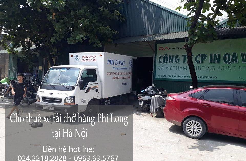 Dịch vụ cho thuê xe tải giá rẻ tại phố Vạn Hạnh-0963.63.5767