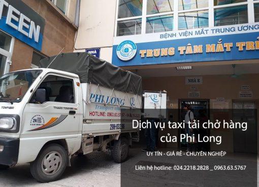 Cho thuê xe tải giá rẻ tại phố Vĩnh Hồ