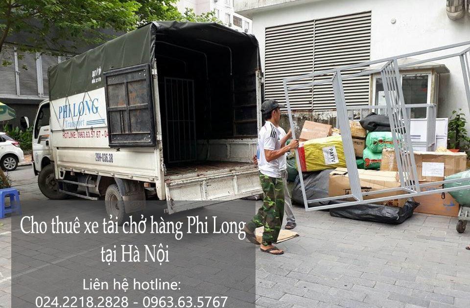 Cho thuê xe tải giá rẻ tại phố Lệ Mật