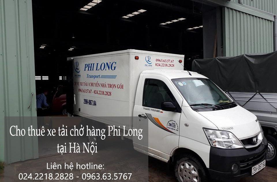 Cho thuê xe tải giá rẻ tại phố Trần Danh Tuyên-0963.63.5767