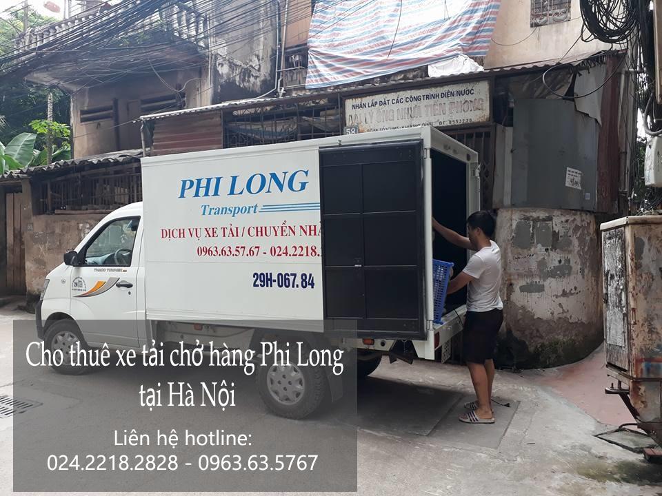 Cho thuê xe tải chở hàng giá rẻ chuyên nghiệp tại phố Đặng Tiến Đông