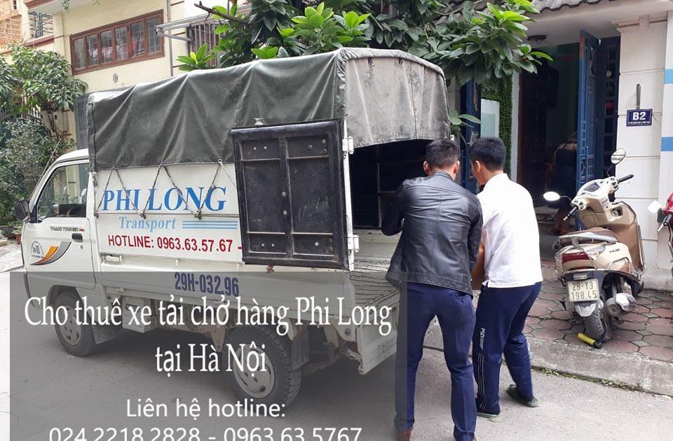 Cho thuê xe tải chở hàng từ hà nội đi Cao Bằng