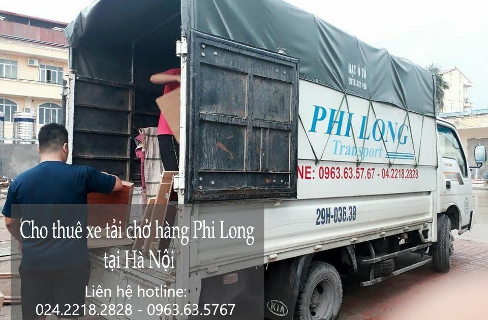 Cho thuê xe tải giá rẻ tại phố Tân Thụy