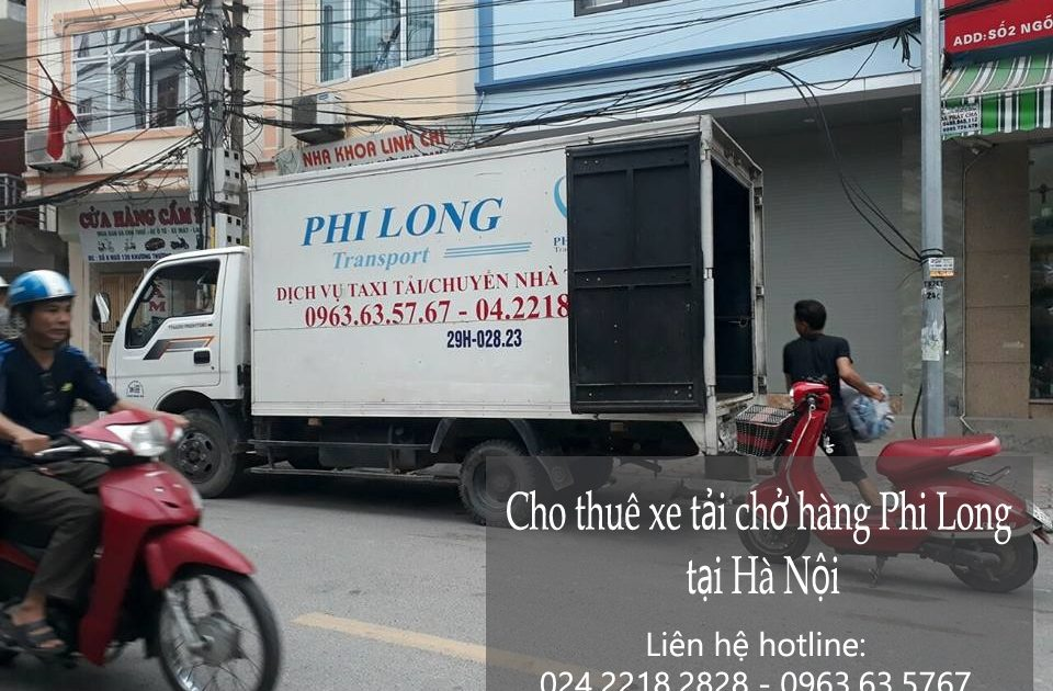 Cho thuê xe tải 5 tạ giá rẻ tại phố Vũ Đức Thận-0963.63.5767