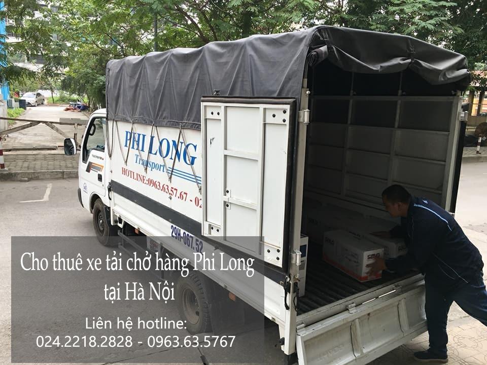 Dịch vụ cho thuê xe tải giá rẻ tại phố Trần Nhân Tông