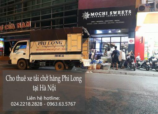 Cho thuê xe tải chở hàng từ hà nội đi Lai Châu