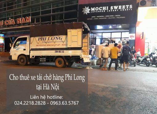 Cho thuê xe tải chở hàng từ hà nội đi Hòa Bình