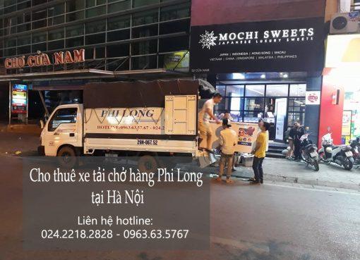 Cho thuê xe tải chở hàng từ hà nội đi Điện Biên