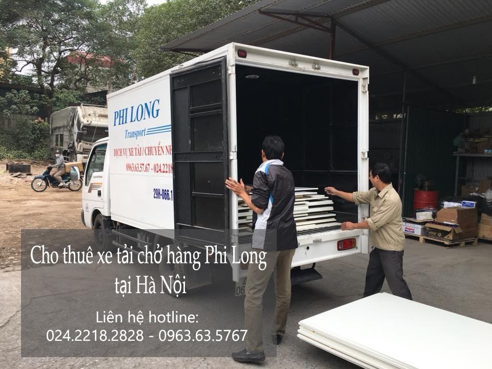 Cho thuê xe tải giá rẻ tại phố Đại Cồ Việt