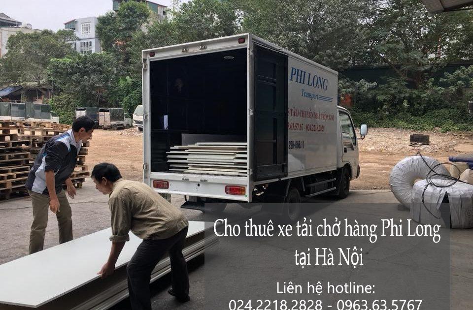 Cho thuê xe tải 5 tạ giá rẻ tại phố Trần Khát Chân