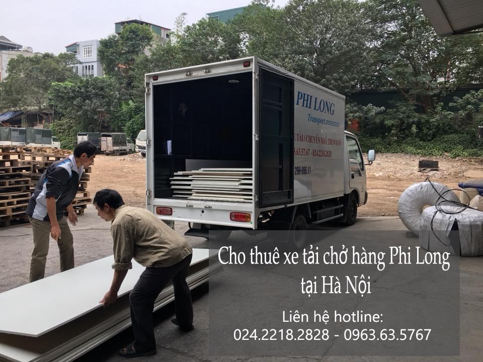 Cho thuê xe tải giá rẻ tại phố Trần Thủ Độ