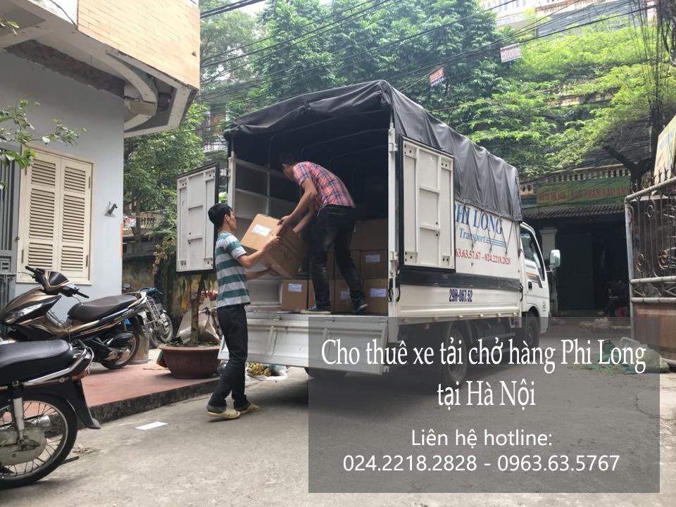 Cho thuê xe tải giá rẻ tại phố Võ Chí Công