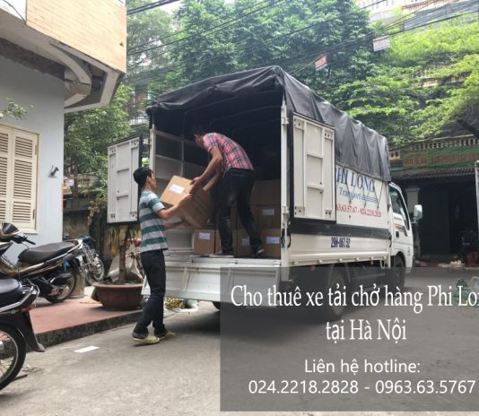 Cho thuê xe tải chở hàng từ Hà Nội đi Hải Phòng
