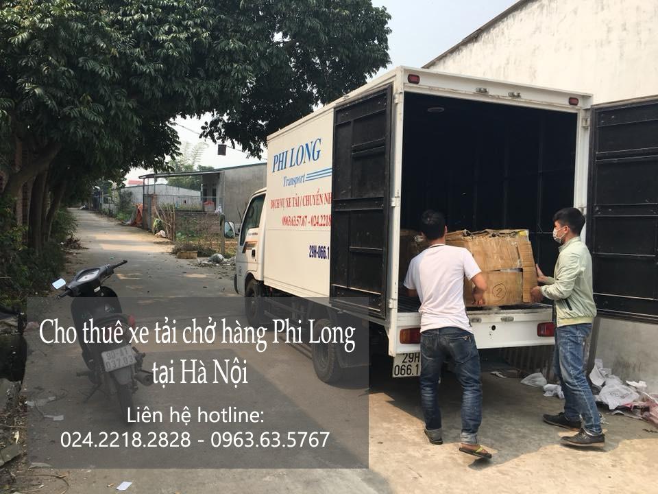 Dịch vụ cho thuê xe tải giá rẻ tại phố Phạm Huy Thông